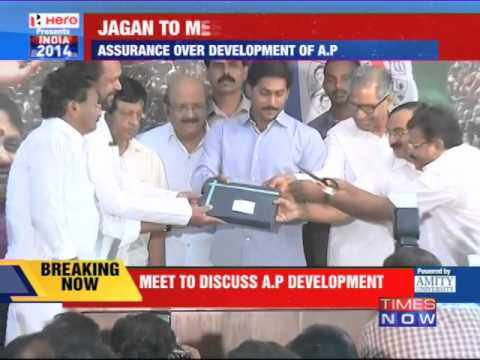 YSR Congress chief Jaganmohan Reddy to meet Narendra Modi