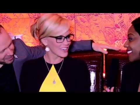 Brownie Marie interviews Jenny McCarthy and Donnie Wahlberg
