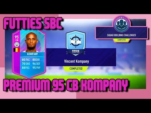 FIFA 18 - FUTTIES - Special Premium SBC 95 Kompany & Pack Opening