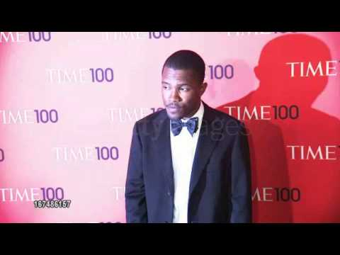 Frank Ocean at 2013 Time 100 Gala red carpet