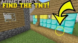 Minecraft: FIND THE TNT!!! - Custom Map