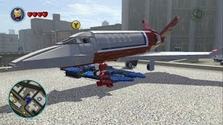 LEGO Marvel Super Heroes Unlocking And Flying The Stark