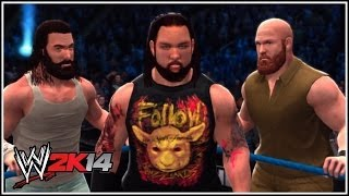 WWE 2K14 The Wyatt Family Entrance! (Wyatt Family Vs The
