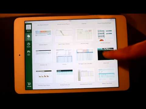 Microsoft Office Excel - iPad App Review