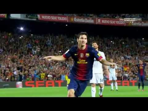 Lionel Messi - Top 10 Goals 2012 - 2013
