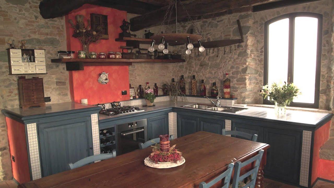 La Cucina Rustica In Muratura Di Zaccaria Monguzzi   #A1362A 1920 1080 Come Arredare Una Cucina Rustica In Muratura