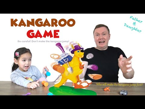 Kangaroo Game with Prize | Father vs Daughter | Family Fun Game