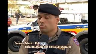 Tr�s s�o baleados durante briga de gangues em Juiz de Fora