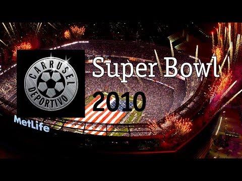 Carrusel Deportivo Super Bowl 2010