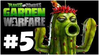 Plants vs. Zombies Garden Warfare - FREAKIN EPIC!! Co-Op - PART 5 (Xbox One)