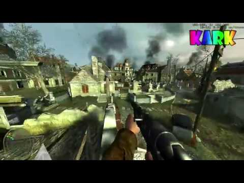 CoD:WaW - Ring of Steel Jumps and 3 Ways out of map (PC)