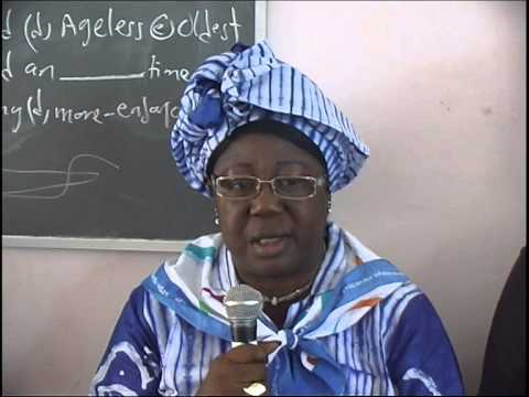 Gambia Girl Guides Association 2014 Tour Part 1