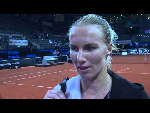 Interview Svetlana Kuznetsova (RUS) - Porsche Tennis Grand Prix 2014