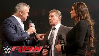 Shane McMahon returns to WWE: Raw, February 22, 2016
