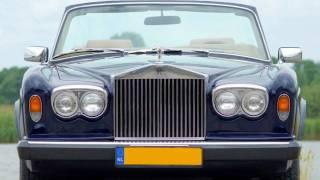 1981 Rolls Royce Corniche convertible / cabriolet