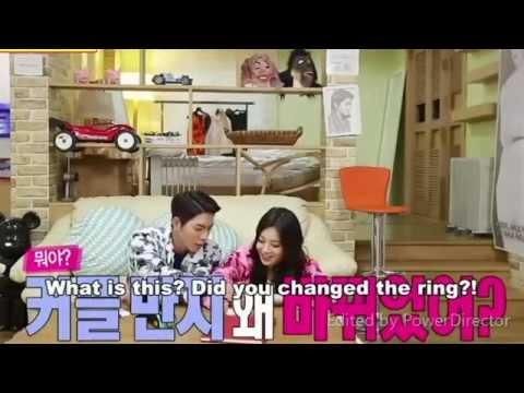JjongAh Couple - Jong Hyung Got Angry Yura Changed Her Ring
