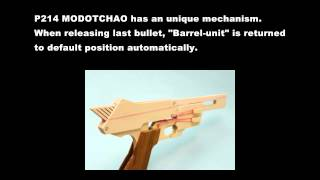 Tutorial Introduction, Auto-Return Rubber Band Gun P214