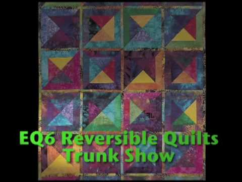 Sharon Pederson Presents Reversible Quilts Youtube