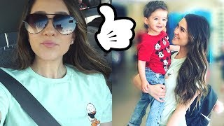 DAY IN THE LIFE OF A STAY AT HOME MOM | LIZA ADELE