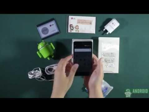 Đập hộp điện thoại LG Optimus G F180