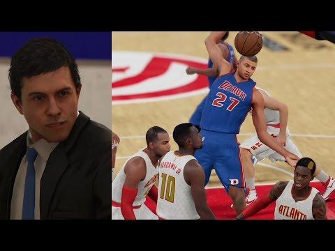 NBA 2K16 PS4 My Career - 1st NBA Game!