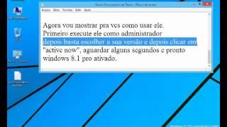 Ativar Windows 8.1 Pro Com Media Center (Atualizado)