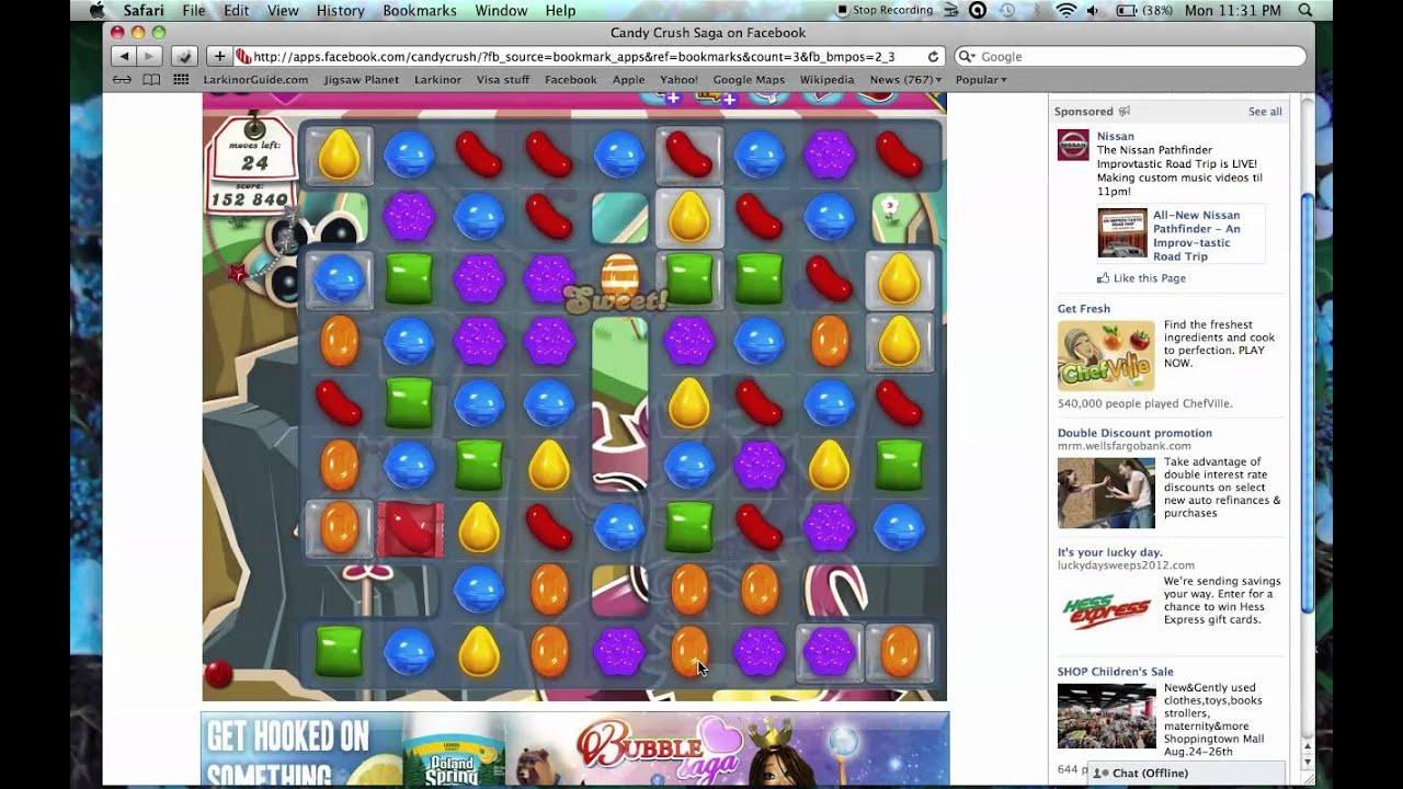 Candy Crush Saga level 35 - YouTube