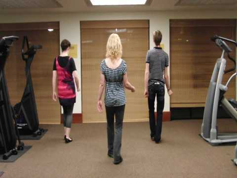 Michael Jackson Beat It Dance Tutorial Part 2 of 4 (back view with Verbal Cueing)