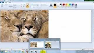 Como Colocar De Duas Fotos No Paint E Como Escrever Nelas
