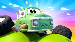 Město aut - Mario uvízl na stromě