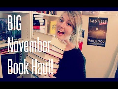 BIG November Book Haul AND FREE BOOKS?!