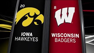 Iowa at Wisconsin - Football Highlights
