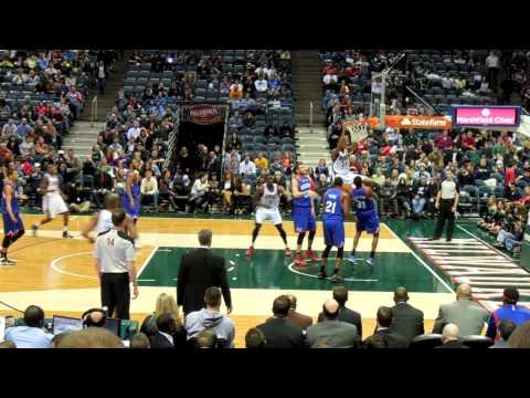 Philadelphia 76ers @ Milwaukee Bucks GAME HIGHLIGHTS & MORE (12-21-13) *MCW & GIANNIS*