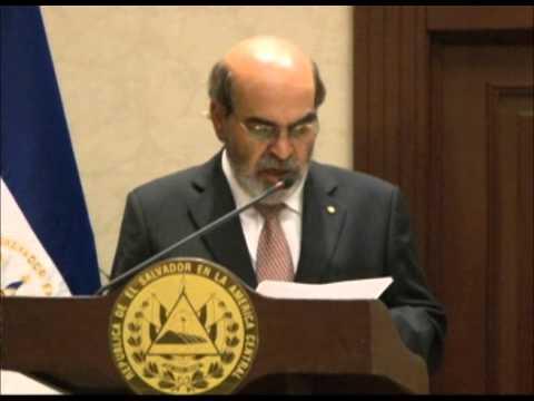 FAO y Asamblea Legislativa firma de un convenio marco de cooperación para la erradicación del hambre