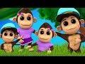 gorilla famiglia dito canzoni prescolari bambini musica Nursery Rhymes Gorilla Finger Family