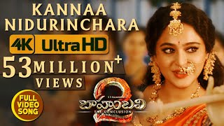 Baahubali 2 Movie Kannaa Nidurinchara Full Video Song
