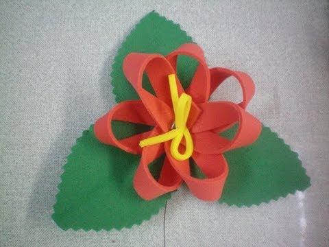 Flor para Árvore de Natal