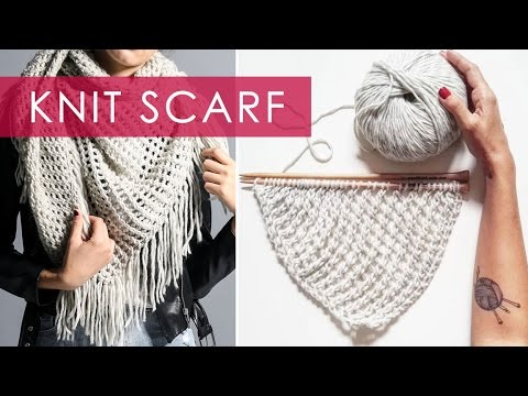 Knit Scarf | We Are Knitters (contest closed)