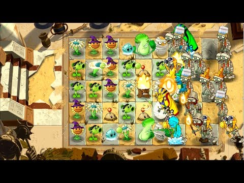 Plants vs Zombies 2: It's About Time - Tutorial Level 1 - Walkthrough (Android)