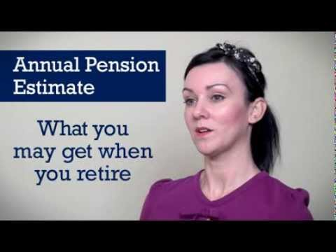 Changes to your Annual Pension Estimate