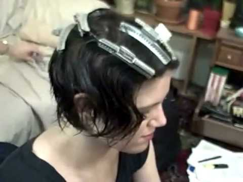 Finger Wave tutorial 1/2 (with wave clips)