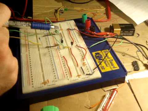 How to make a NOR logic gate
