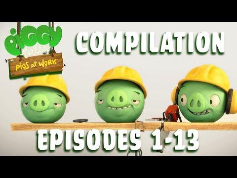 Piggy Tales - Prasatá v práci - kompilácia