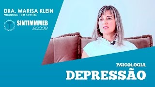 TVSINTIMMMEBSAúDE | DRA. MARISA KLEIN | DEPRESSÃO