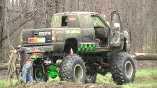 "48"" Terra Tires Monster 4x4 Chevy Barnyard Boggers Jason"