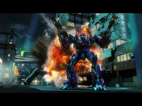 Transformers Revenge of the fallen Optimus Prime gameplay [HD]