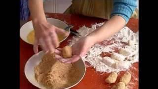 Como moldear croquetas
