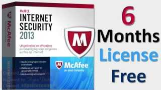 McAfee Internet Security 2013! 6 Months License Key(Free