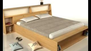 Cama Japonesa - Camas de madera