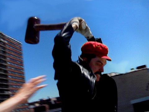 E3 2009: Super Mario protest (Юмор)